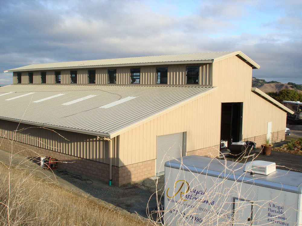 Large Steel Building - Metal Building Company