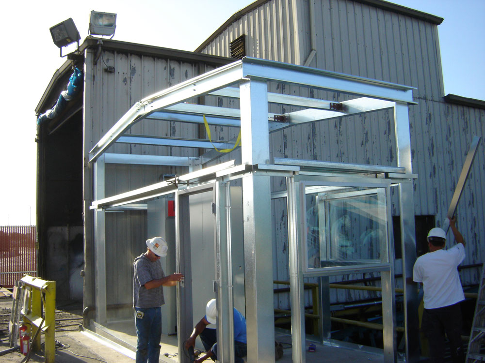 Pre-Fab Steel Building Frame