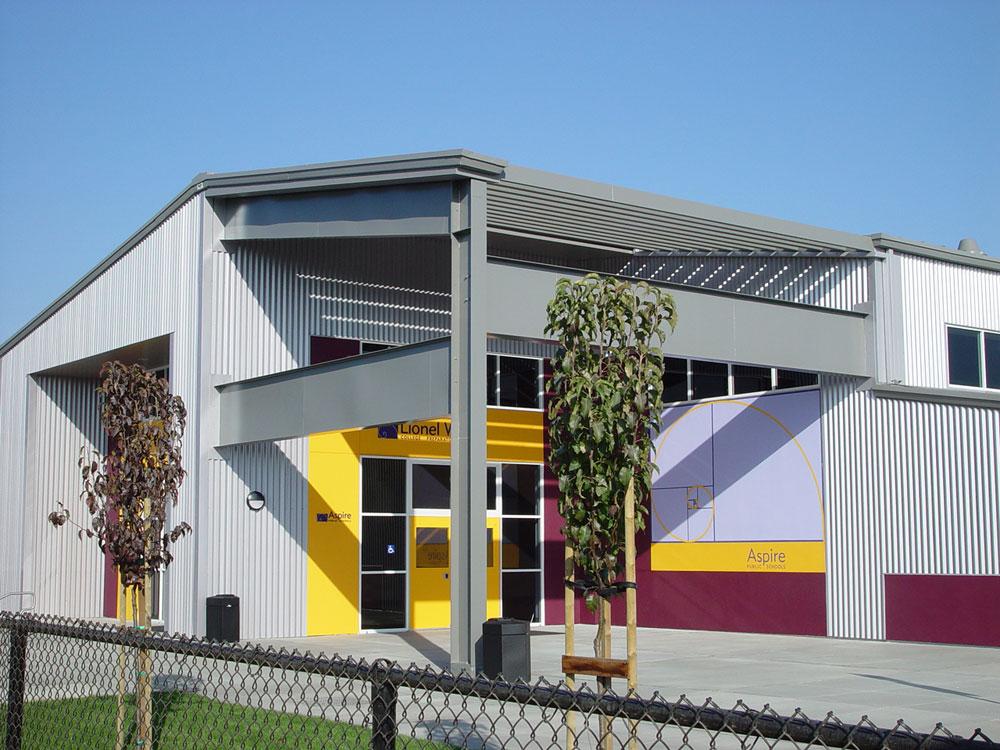 Aspire Public Schools Metal Building