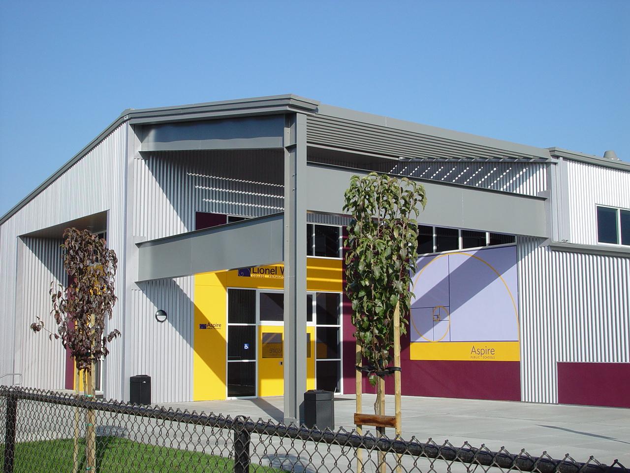 Aspire Public Schools Steel Building