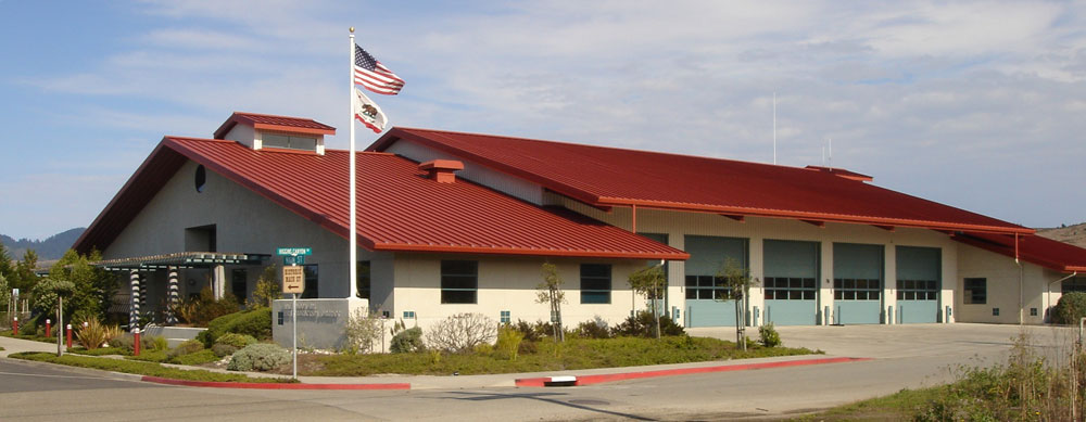 Half Moon Bay Fire Station Metal Building