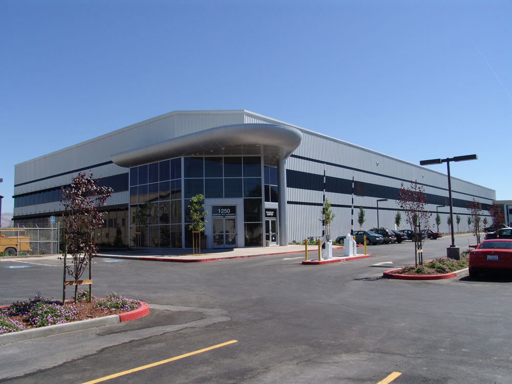 San Jose Jet Center Metal Building