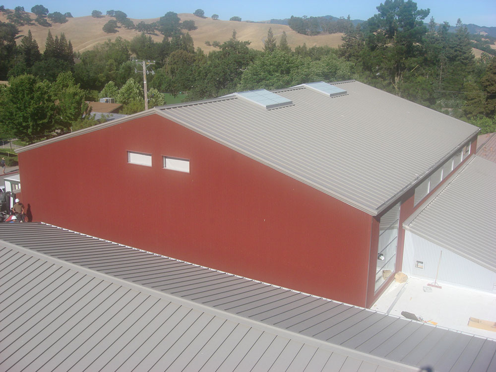 Athenian Metal Roof Complete